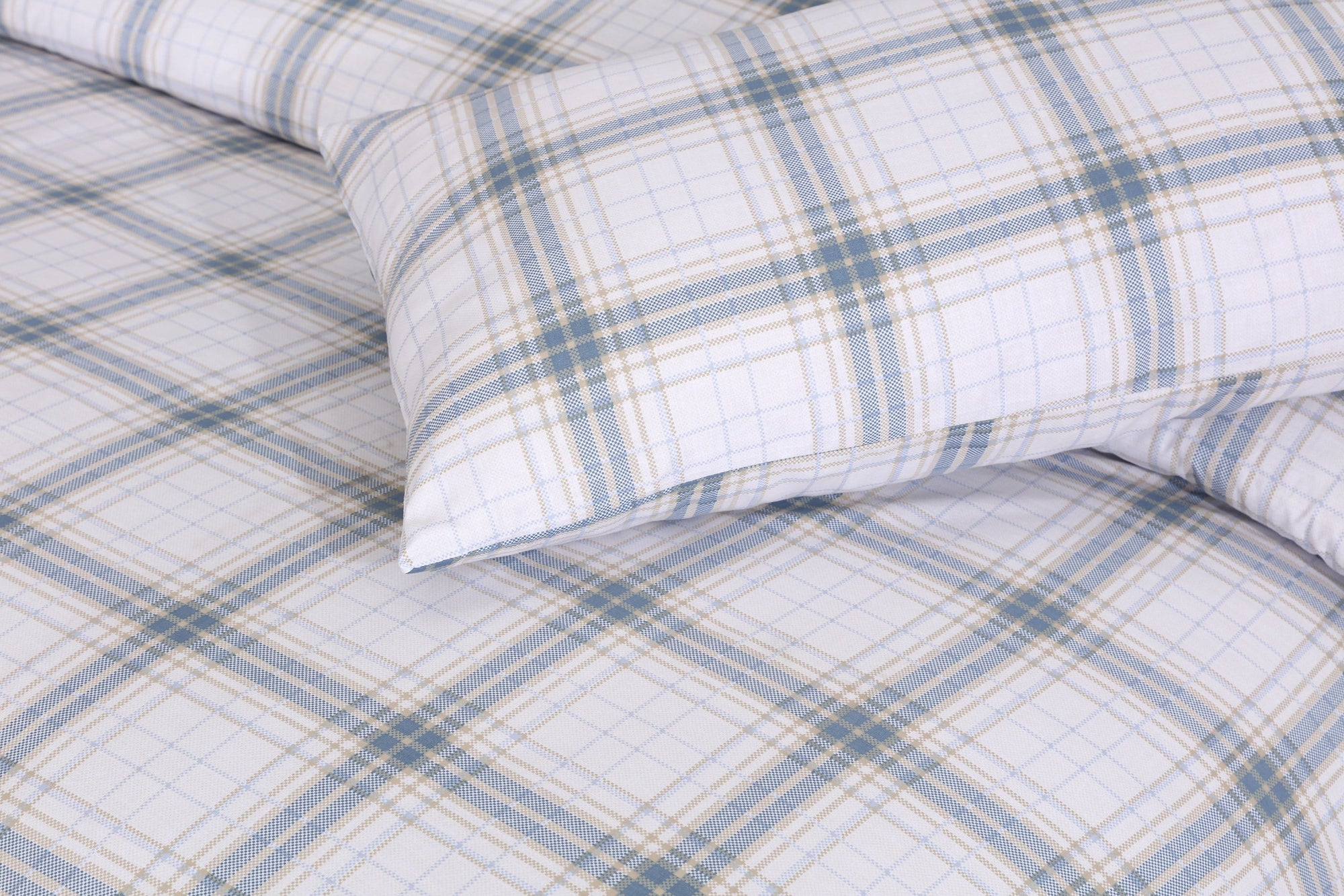 Grace D195-Cotton PC King Size Bedsheet with 2 Pillow Covers.
