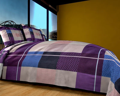 Grace 61-Reactive cotton Satin Quality king size Bedsheet with 2 pillow covers. - gracestore.pk