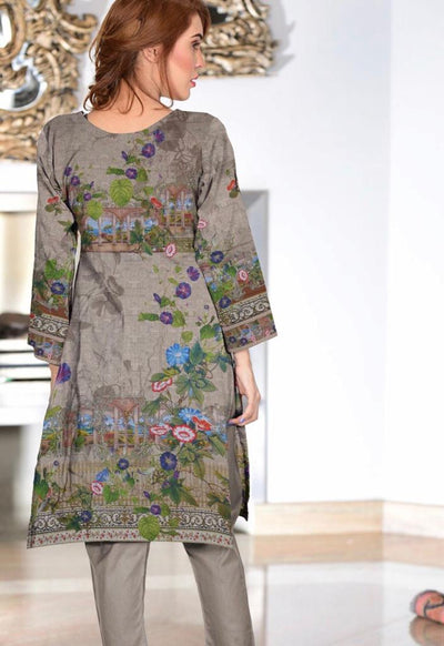 Zara Noor 20-Original Digital Printed Unstiched Lawn kurti.