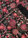 SARINNAH PREMIUM D96-FORMAL HEAVY EMBROIDED KARANDI LAWN SHAWL. - gracestore.pk
