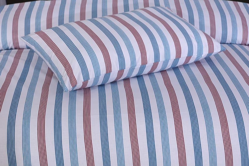 Grace D377-Cotton PC King Size Bedsheet with 2 Pillow Covers.