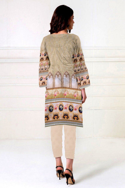 SAU 444-Digital Printed Unstiched khaddar kurti.