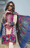 Limelight 1859 A-Embroided 3pc lawn dress with chiffon dupatta. - gracestore.pk