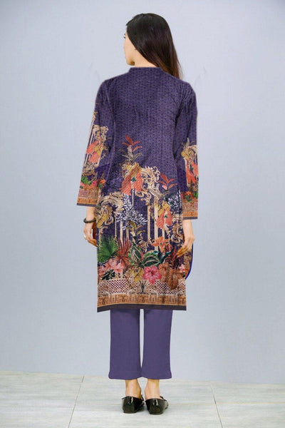 SAU 777-Digital Printed Unstiched khaddar kurti.