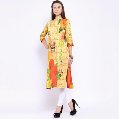 Naqsh 23-Digital Printed Stiched Lawn kurti. - gracestore.pk