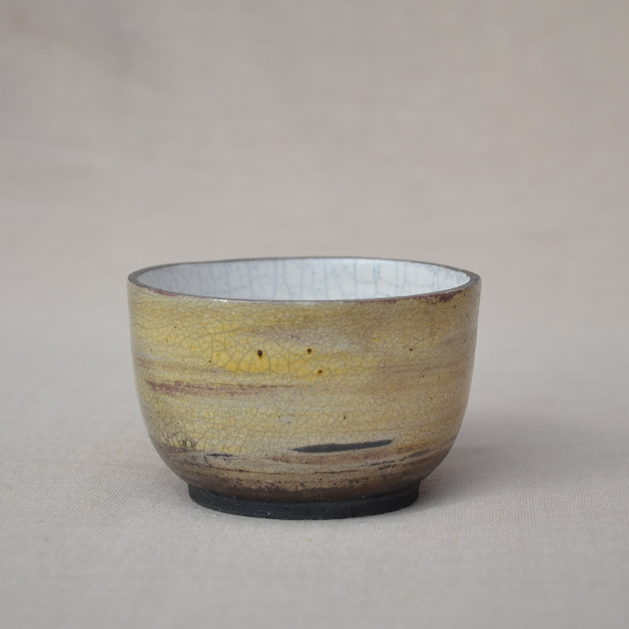 Small bellied Raku bowl