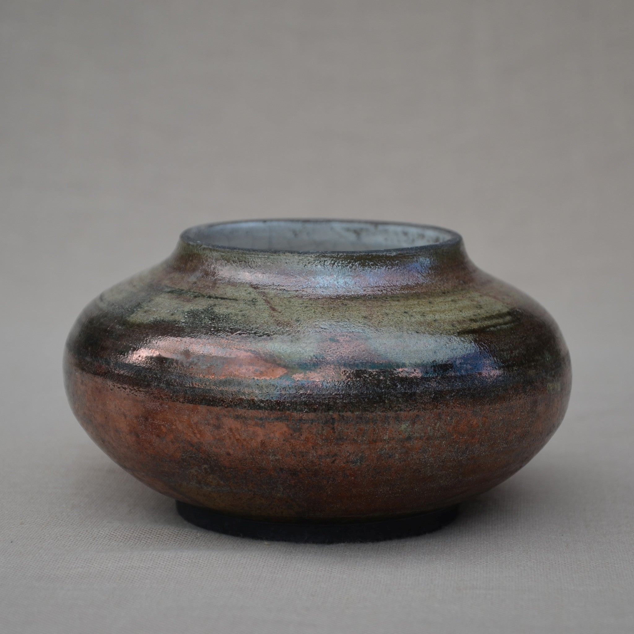 "Medium Raku ""pumpkin"""