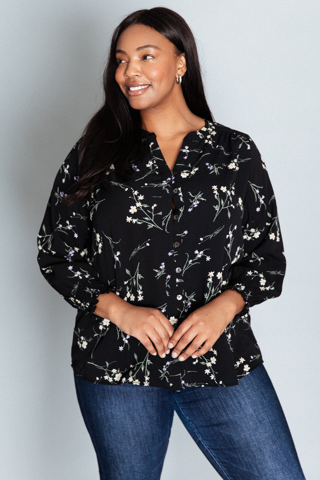 Monterey Blouse - Black