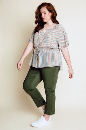 MONECCO TOP - GREY MULTI