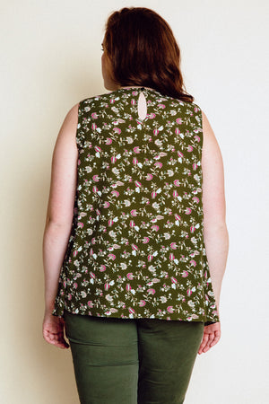 Cecille Sleeveless - Olive