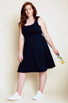 Robertson Dress - Navy