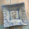 "Dipping Dish - ""Dragonflies"" - Delft Blue"