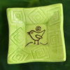 "Dipping Dish - Image  - ""Songbird"" - Lime"