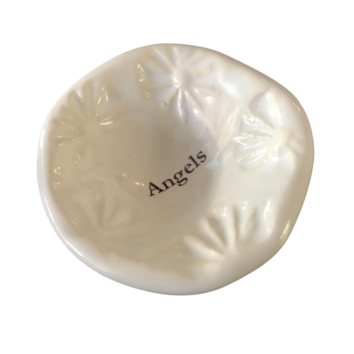 "Giving Bowl - ""Angels"" - White"