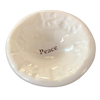 "Giving Bowl - ""Peace"" - White"