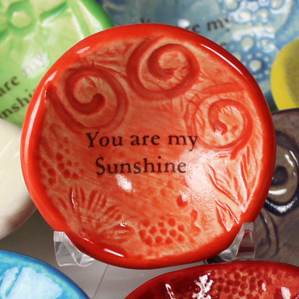 "Giving Bowl - ""You are my Sunshine"""
