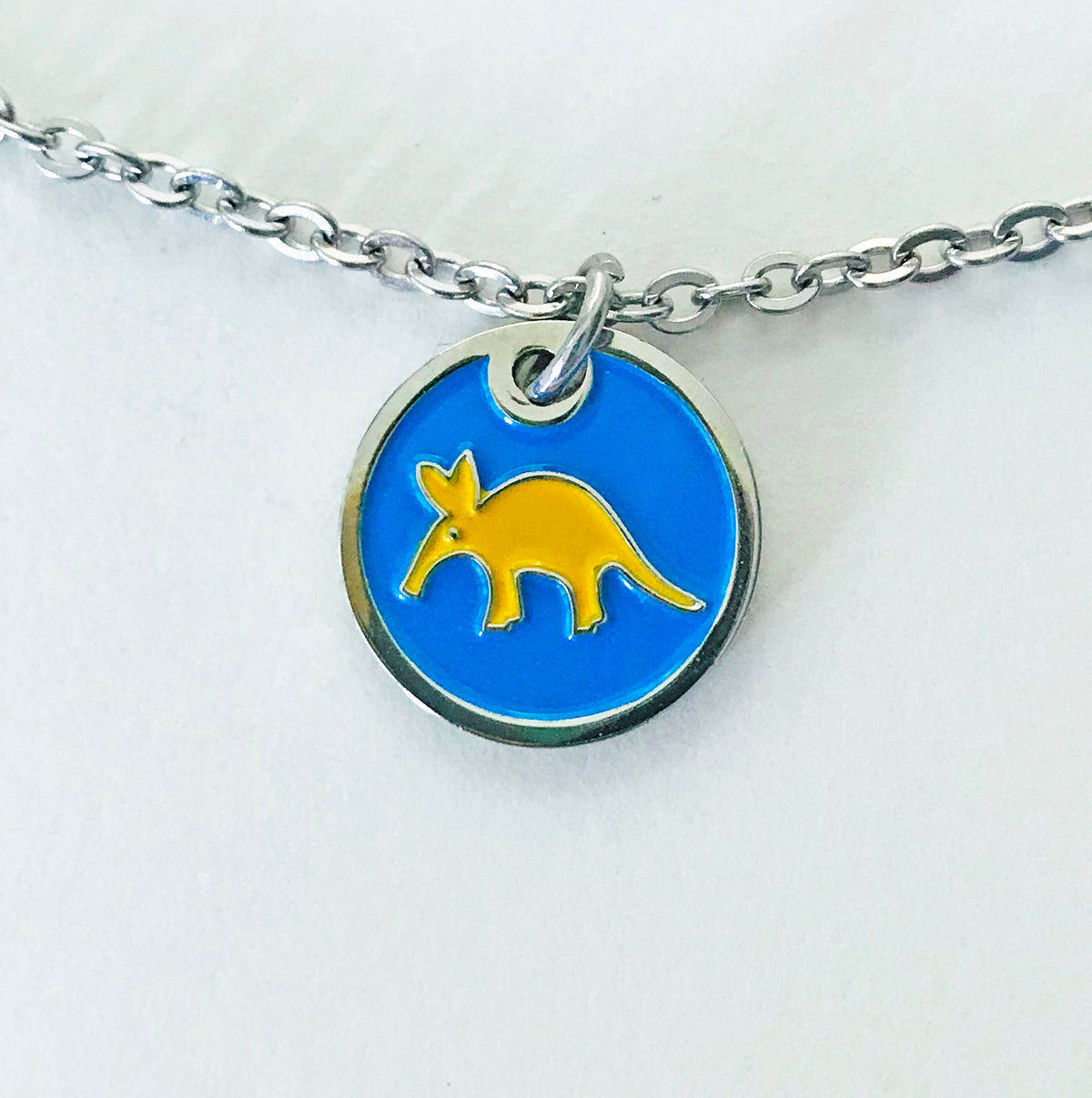Pendant with Golden Aardvark