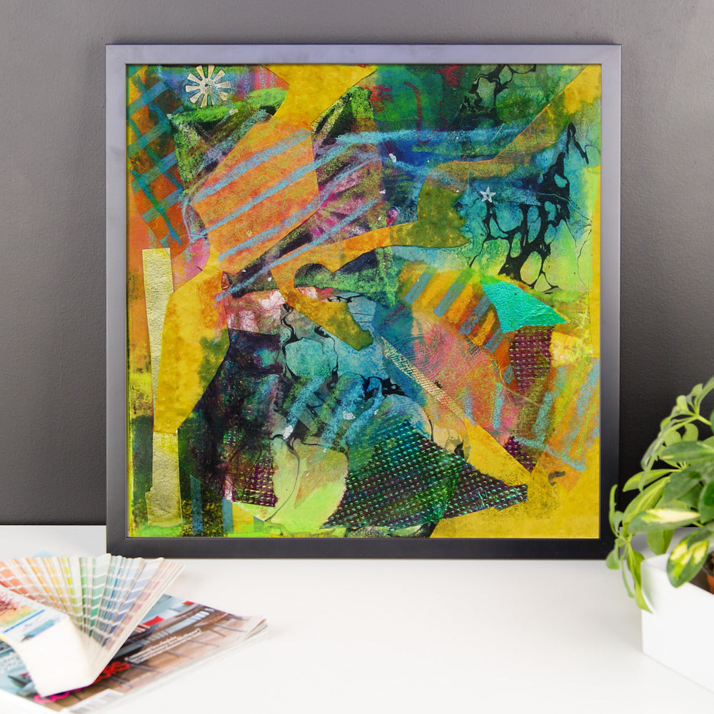 Framed Poster - Abstract with Star