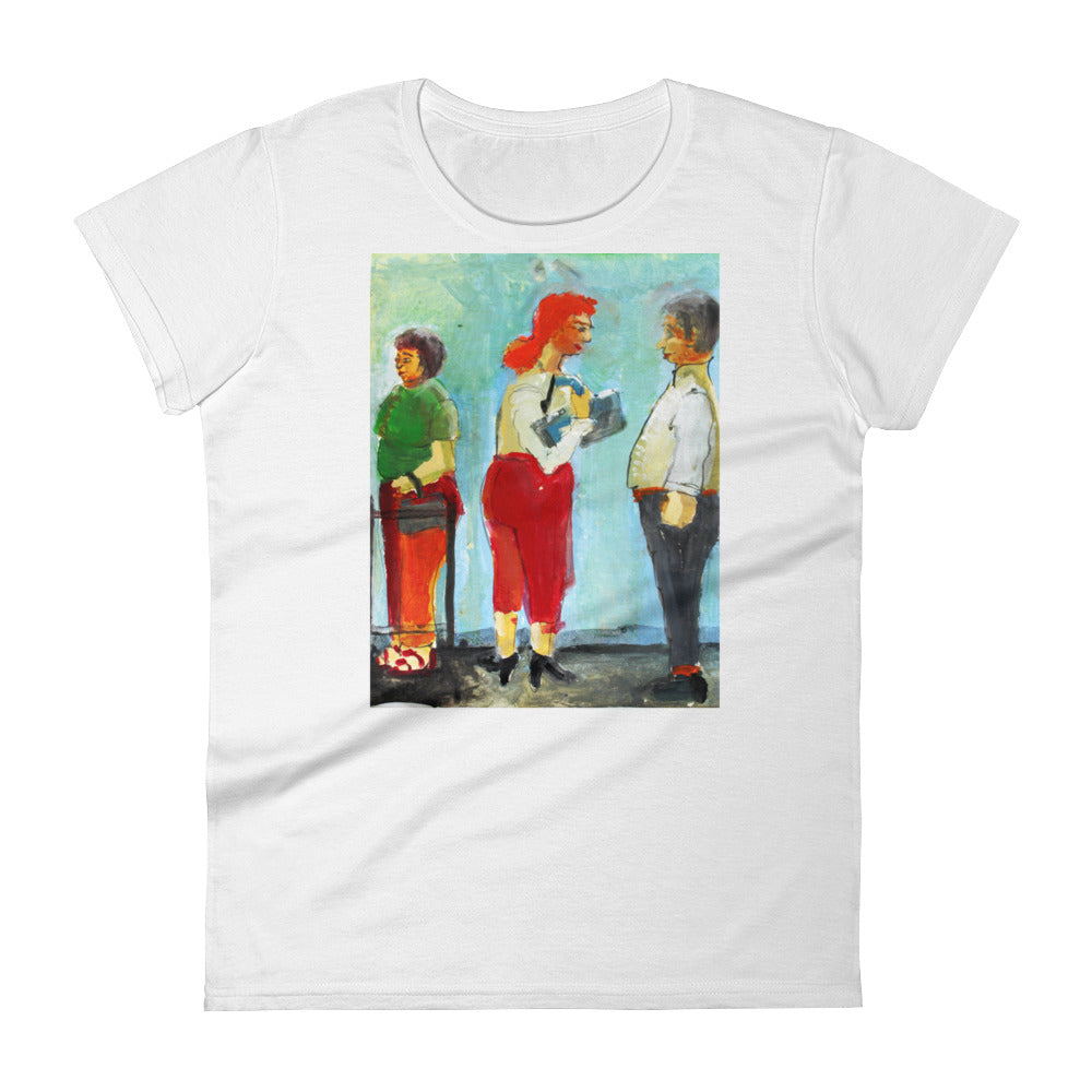 Women's short sleeve t-shirt - Boomers