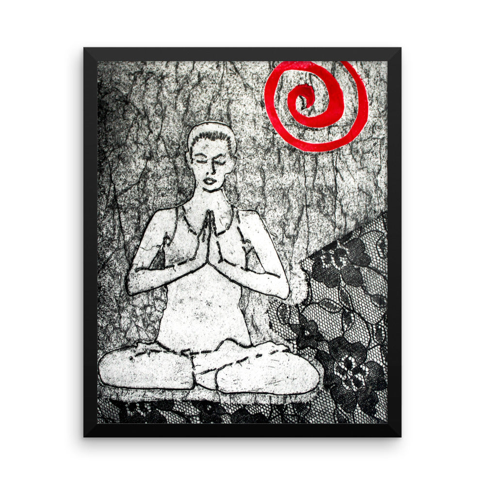 Framed poster - Meditation