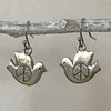 Earrings - Peace Dove