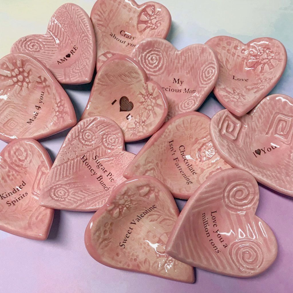 Lorraine Oerth collection of Valentine Giving Hearts