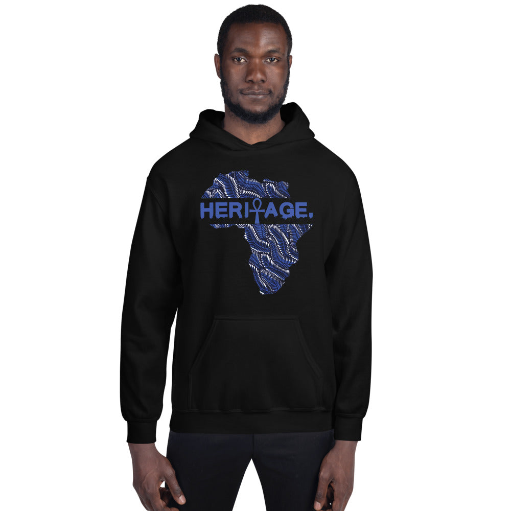 Heritage Pattern Hooded Sweatshirt