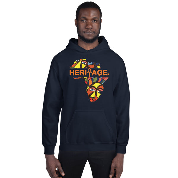 Heritage Art Hooded Sweatshirt
