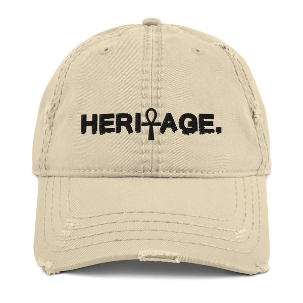 Heritage Distressed Dad Hat