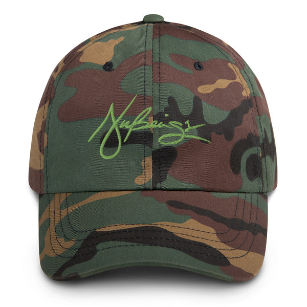 Nubeings Camo Dad hat