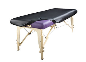 Fitted Massage Table Cover (Vinyl Leather) - All Therapeutic