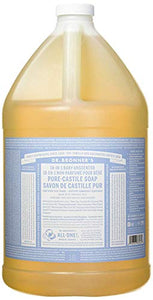 Dr. Bronner's 18-in-1 Hemp Pure Castile Soap (Unscented) (64 fl. oz. ) - All Therapeutic
