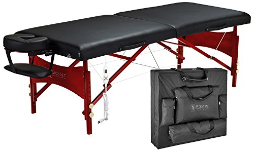 "Master Massage 30"" Roma LX Portable Massage Table Deluxe Package - All Therapeutic"