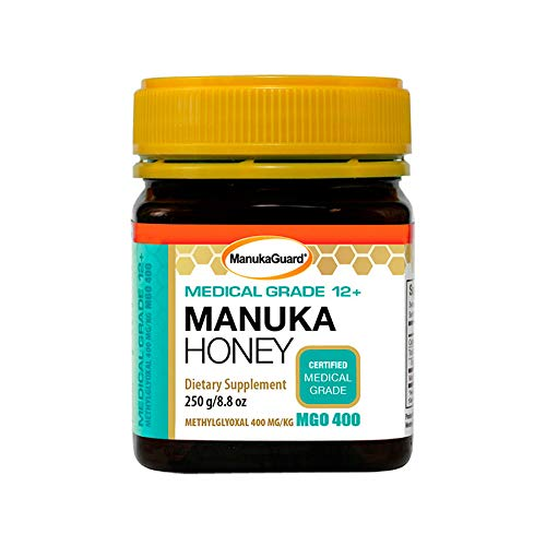 ManukaGuard Health Care Medical Grade Manuka Honey 12 + Sterile MGO 400 8.8 oz. - All Therapeutic