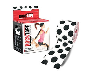 "2"" Black Polka Dot Print Kineseology Tape - All Therapeutic"