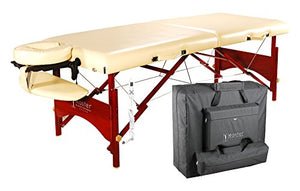 "Master Massage - 28"" Caribbean Therma-Top Heated Portable Massage Table - All Therapeutic"