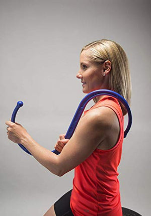 The Backnobber II Personal Massager (Blue) - All Therapeutic