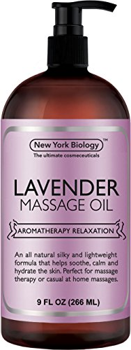 Lavender Massage Oil 9oz - All Therapeutic