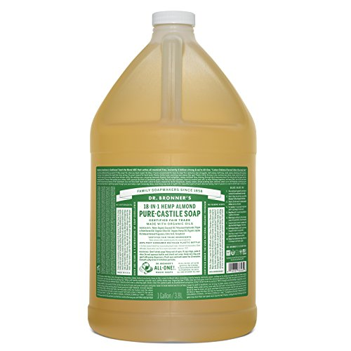 Dr. Bronner's 18-in-1 Hemp Pure Castile Soap (Almond) (64 fl. oz. ) - All Therapeutic