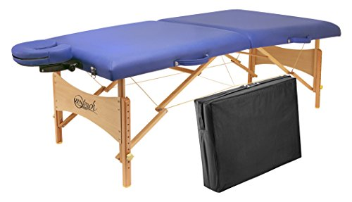 "Master Massage 27"" Brady Portable Massage Table Package - All Therapeutic"