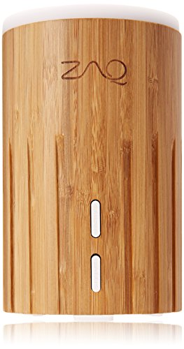 Bamboo Aromatherapy Diffuser - Multi Color LED, 100ml Capacity - All Therapeutic