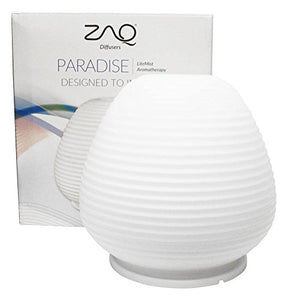 Paradise Glass Aromatherapy Diffuser - Multi Color LED, 200Ml Capacity - All Therapeutic
