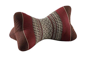 Back and Neck Support Star Pillow - Brown/Burgundy - All Therapeutic