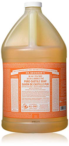 Dr. Bronner's 18-in-1 Hemp Pure Castile Soap (Tea Tree) (64 fl. oz. ) - All Therapeutic