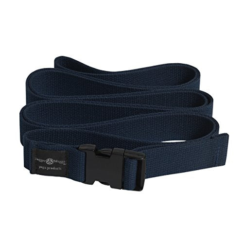 10' Quick-Release Yoga Strap (Navy) - All Therapeutic