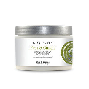 Biotone Pear & Ginger Ultra Hydrating Body Butter - 7.5 oz : Gateway - All Therapeutic