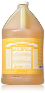 Dr. Bronner's 18-in-1 Hemp Pure Castile Soap (Citrus Orange) (64 fl. oz. ) - All Therapeutic