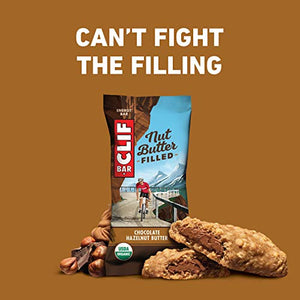 Clif Builder Bars Chocolate Hazelnut 12 (2.4 oz.) bars per box - All Therapeutic