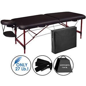 "Master Massage 28"" Zephyr Professional Portable Massage Table - All Therapeutic"