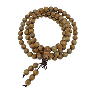 Natural Wood Mala Beads - All Therapeutic
